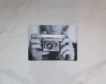 Vintage Camera Photo Magnet