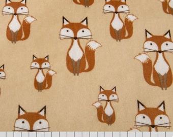 Minky Fabric By The Yard, Fox Minky Fabric, Fox Cuddle Minky, Foxy Tails Minky, Shannon Fabrics, Sold By The Yard, Fox Minky By The Yard