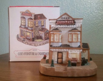"""The Liberty Falls Collection """"Cox's Furniture &Undertakers"""" AH38"""