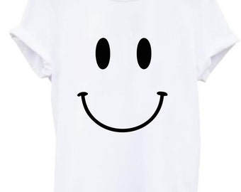 Smiley face shirt etsy for Best acid house albums