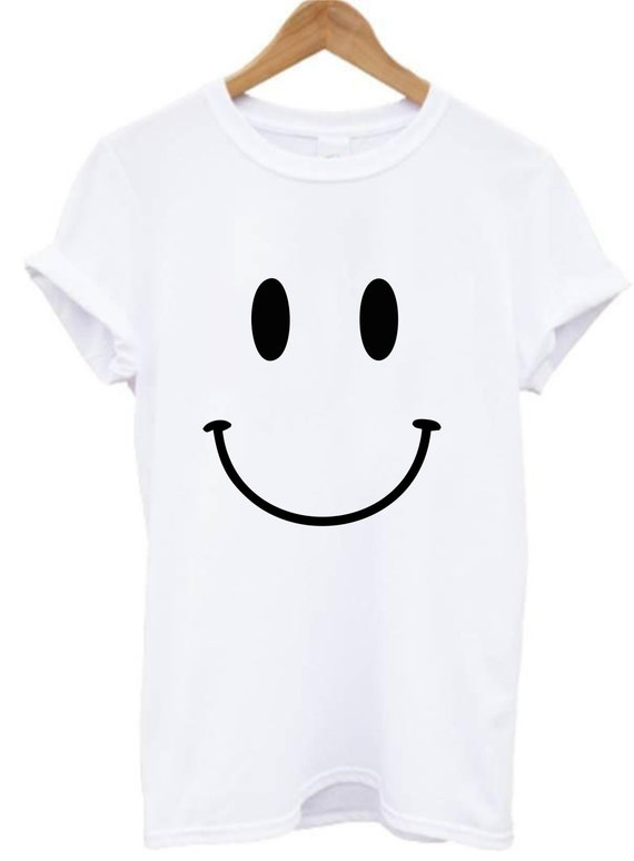 Smiley acid face t shirt top drum bass house techno rave for Best acid house albums