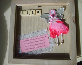 flower girl fairy with any name