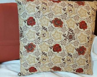 Fall Rose Pillows 16x16