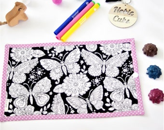 Colouring Mat Add on - Butterfly