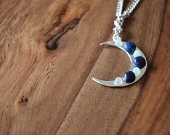 Moon Crescent #3 / mom gift her friend girlfriend valentine wife daughter