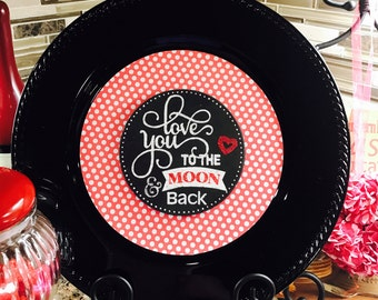 Valentine Charger Plate