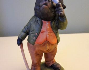 Kaiser Porcelain Hedgehog Mole Figurine