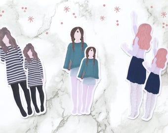 Cozy Planner girls #3