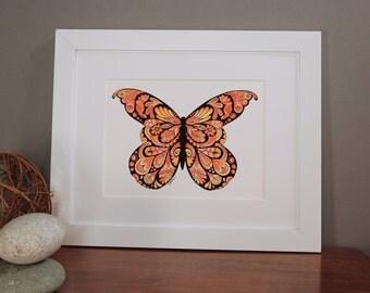Monarch Butterfly, Butterfly Art, Butterfly, Butterflies, orange butterfly