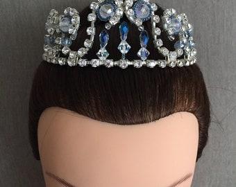 10% SALE Silver Ballet Tiara  ready to ship
