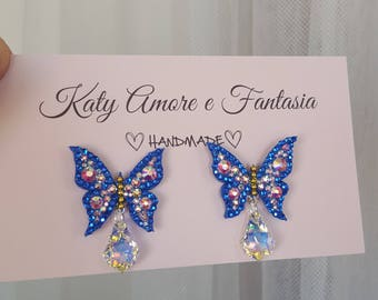 Earrings Butterfly (Butterfly Earrings)