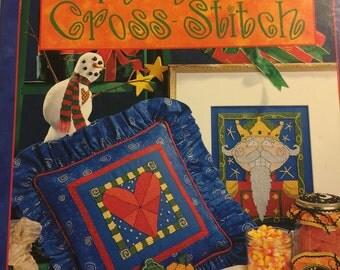 Patrick Lose's Whimsical Cross-Stitch vintage pattern book