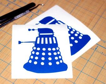 Dr. Who Sticker | Dalek Sticker | Doctor Who Dalek Decal