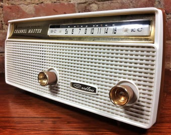 CHANNEL MASTER 6510 (1960) Bluetooth Streaming Radio