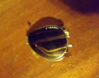 Vintage Farrari folding sun glasses