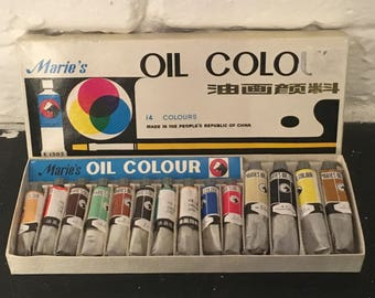 Oil Paints Made in the PRC