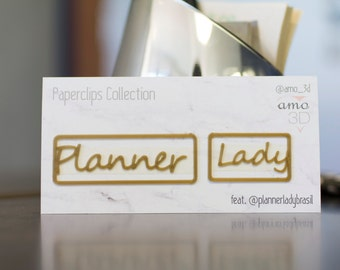 Kit Planner + Lady - @amo_3d feat. @plannerladybrasil collection
