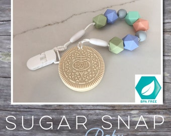 Silicone vanilla oreo teether - bpa free - chew toy - bite toy - toddler toy - newborn gift - baby gift - silicone toy for baby