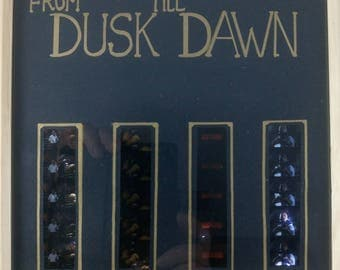 From Dusk Till Dawn Mounted LED Lit Film Cells