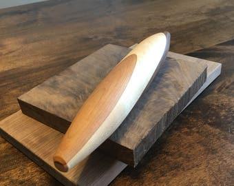 Mini french rollingpin handmade, hardwood