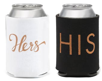 His & Hers - Can Coolers