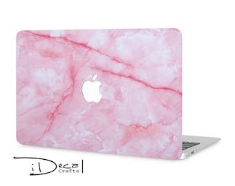 "Pink marble macbook decal macbook skin mac sticker,Gift for her,Macbook Air 13 & Mac Pro 13 Retina,Macbook 11/12"",Macbook Pro 15 Retina"
