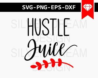 hustle juice svg files, tea lover svg, coffee lover svg, coffee cutting files, coffee mug svg, commercial & personal use, coffee vinyl cut