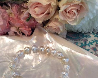 Champagne South Sea Pearl Bracelet #2361/1