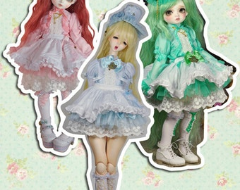 CODENOiR - Candy Dream BJD clothes msd / Slimi msd / mdd / angel philia / 1/4 BJD