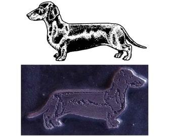 dachshund stamp,inspired printing stamp