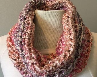 Chunky Crochet Infinity Cowl