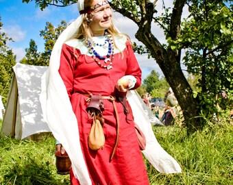 Slavic tunic (9-13c)/ Платье на Русь (9-13 вв)