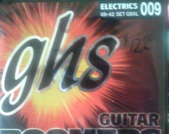 GHS Guitar Boomers Electric Guitar Strings, Full Set