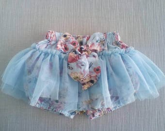 CLEARANCE / Girls bloomers / shorts with skirt / baby shower gift / baby girl clothes