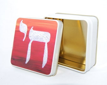 Colorful Chai tin box