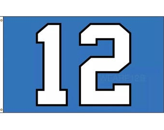 "Original Seattle Seahawks ""12"" Flag 