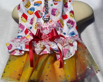Cup Cake TuTu Harness Dress