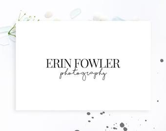 Simple Elegant Photography Logo. Instant Download Logo. Handwritten Logo. Premade Logo. Signature Logo. Script Logo. Business Logo.File 041