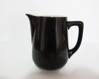 Black Vintage Milk Jug