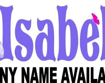 Sofia the First Sophia Personalized Name Iron on Transfer