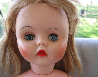 Vintage  Vinyl  18 inches doll