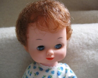 8 1/2 tall doll made in hong kong free shipping in u s a