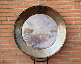 Antique copper plate