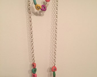 Hearts Necklace and Bracelet