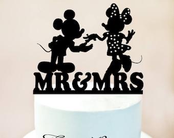 disney wedding cake toppermickey mouse cake toppermickey and minnie weddingmr