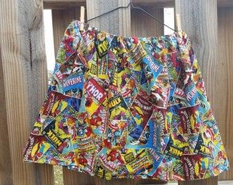 Marvel Print Skirt