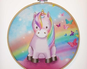 Frame drum Unicorn Pony
