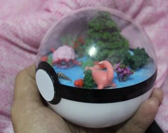 Pokeball Diorama Theme Slowpoke Water (10cm Diameter)
