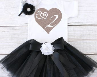 Two Year Old Birthday Outfit. Birthday Outfit 2. Second Birthday Outfit. Girls Birthday Tutu Outfit. 2nd Birthday Outfit. Tutu Outfit.