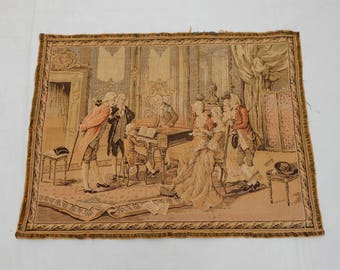 Vintage French Beautiful  Tapestry (229)